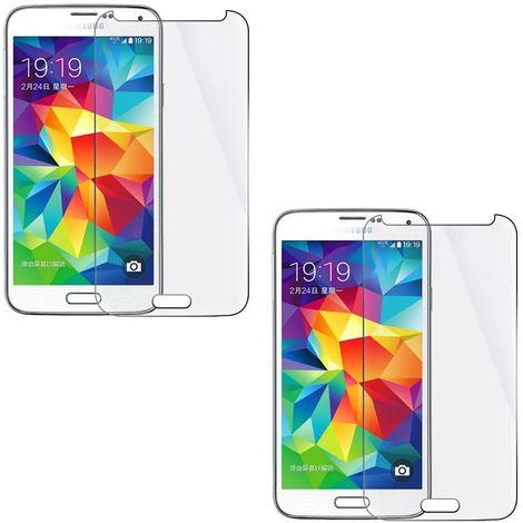 2X Film de protection Samsung Galaxy A5 Film de protection Verre dur Protecteur d'écran