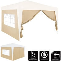2x Gazebo Side Panel 3x2m Folding Garden Outdoor Patio Replacement Wall Exchangeable