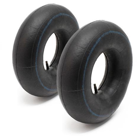2x Inner tube lawn mower tyre 16x6.50-8 straight valve stem garden tractor