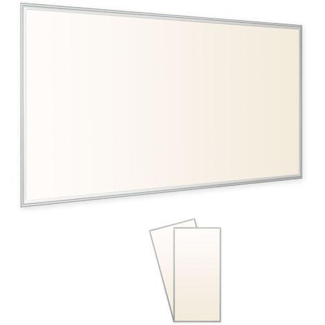 2x LEDVero 120x60 Panneau Ultraslim blanc chaud de LED Panel 60W Plafonnier encastré avec transformateur EMV2016