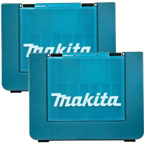 2X Makita 18v Tool Storage Case Toolbox Twin Pack Case - LXT202, BHP451 DK18000