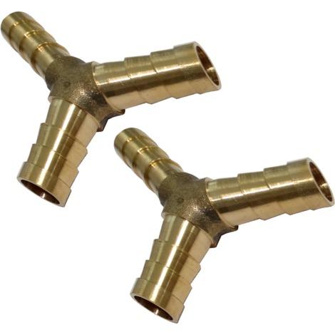 2x raccords triples en Y d'air comprimé compresseur ф8mm coupleur dédoubleur multiprise