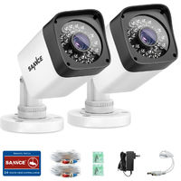 2X SANNCE 720P HD Security Bullet Cameras