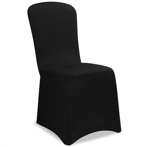 2x Stuhlhussen Stretch Stuhlbezug Stuhlüberzug Stuhl Bezug Hussen Weihnachten