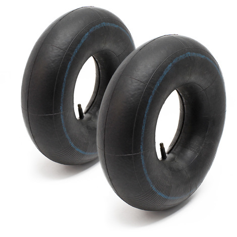 2x Tube Air tube lawn mower tyre TR13 13x5.00-6 Lawn tractor Ride-on mower