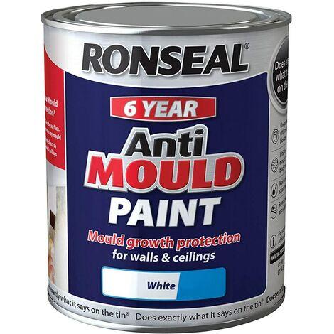 2XAnti Mould Paint White Matt 750ml