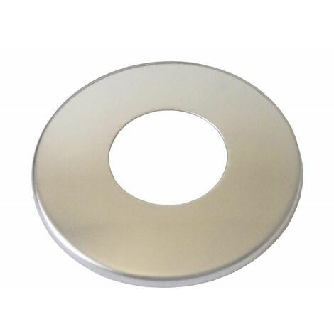 """3/4"""" Inch BSP 26mm Chromé Acier Inoxydable Couvercle Tuyau Mince Collier"""