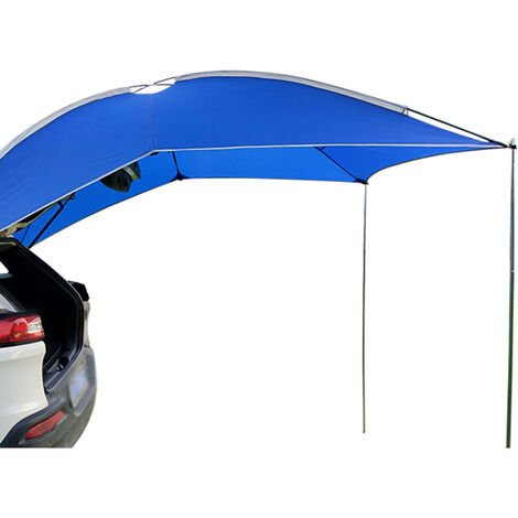 3-4 people roof tent camper awning canopy shelter Blue