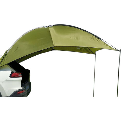 3-4 people roof tent camper awning canopy shelter Green