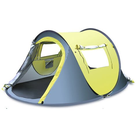 """main image of """"3-4 Person Outdoor Waterproof Automatic Pop Up Shelter Open Quick Hiking Camping"""""""