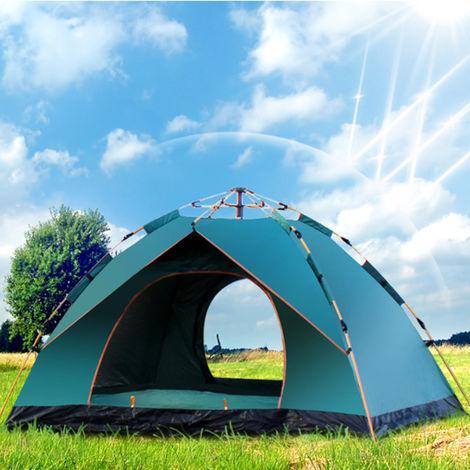 3-4 personnes Tente de camping étanche automatique