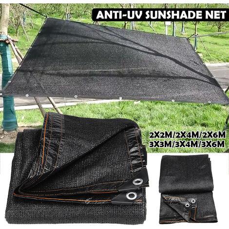 3 * 6 m Anti-UV pare-soleil net jardin extérieur crème solaire écran solaire ombre tissu net PE plante couverture de serre couverture de voiture 80% taux d'ombrage