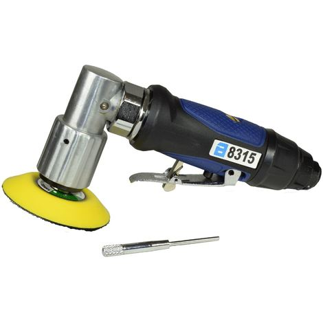 """2/"""" and 3/"""" Mini Orbital Air Angle Grinder Polisher With Backing Pad Dual Action"""