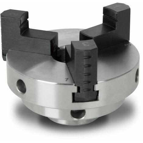 """3"""" / 80 mm mandrin de tour à bois à trois mors à centrage automatique"""