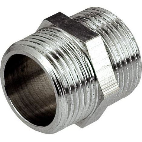 3/8x3/8inch BSP Male Thread Pipe Connection Fittings Muff