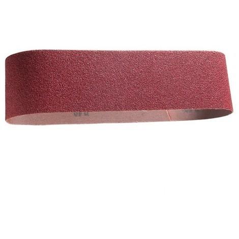 3 bandes abrasives sans fin 75 x 610 mm Gr 80 Corindon - 10950020 - Sidamo