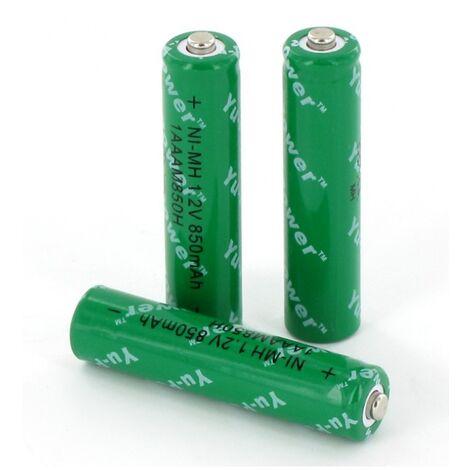 3 Batteries BATNI12 pour combiné secteur Daitem