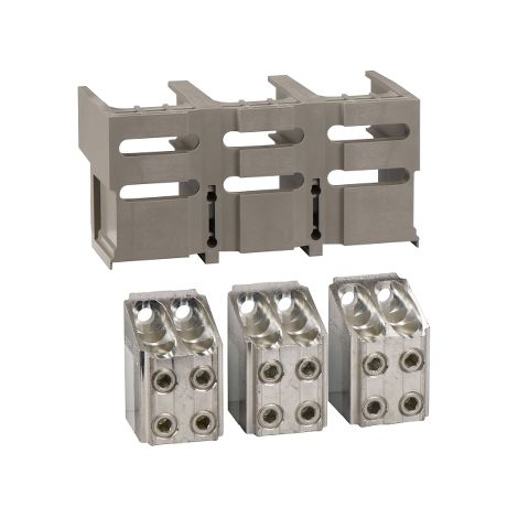 3 BORNES PR 4 CABLES 240MM2 +1 CUBREBO SCHNEIDER ELECTRIC 33640