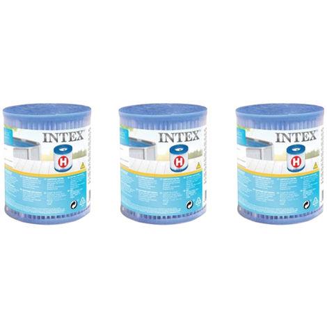 3 cartouches de filtration H - Intex