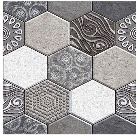 3 Dimension resistente al agua a prueba de humedad del papel pintado desprendible auto-adhesivo de la cascara y del palillo de PVC engomadas de la pared de la sala de bano Mueble de cocina, 1pcs