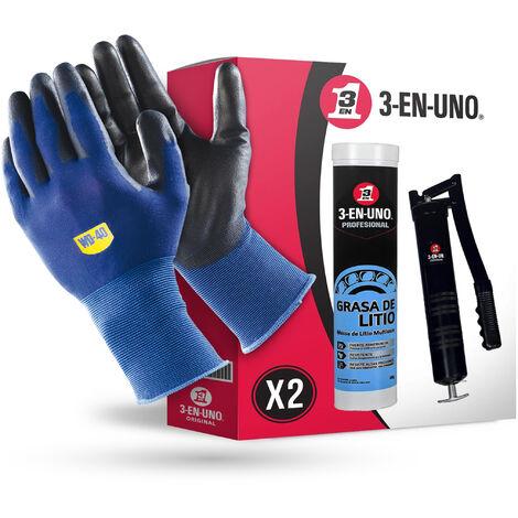 3 EN UNO Profesional - Lote Grasa de litio multiusos 400gr + Bomba profesional engrasadora para cartucho de 400gr