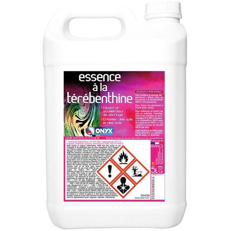 3 essence térébenthine bidon 5 l