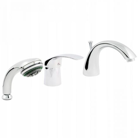 3-hole standing bath mixer _0