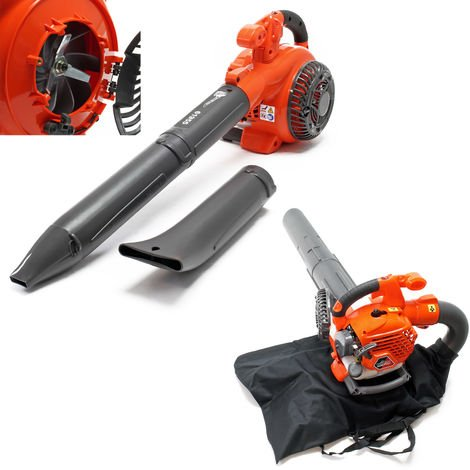 3-in-1 Leaf Blower, Vacuum and Shredder 1HP 26cc with 50L Collection Bag