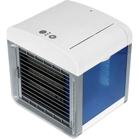3 in 1 mini usb portable air conditioner fan 3 speed cooler humidifier cleaner