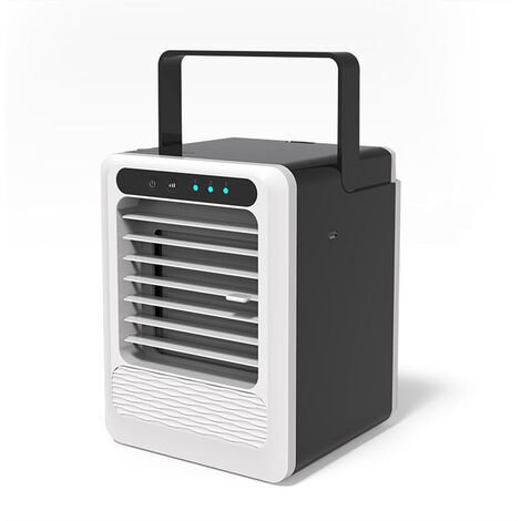 """main image of """"3 In 1 Portable Mini USB Air Conditioner Cooler with Max 2.5L Tank Humidifier Purifier Fan"""""""