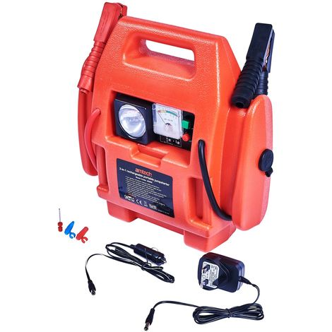 3-In-1 Rechargeable Portable Jumpstarter