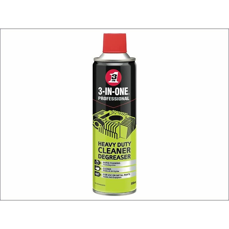 Image of Heavy-Duty Cleaner Degreaser 500ml (HOW44605) - 3-in-one