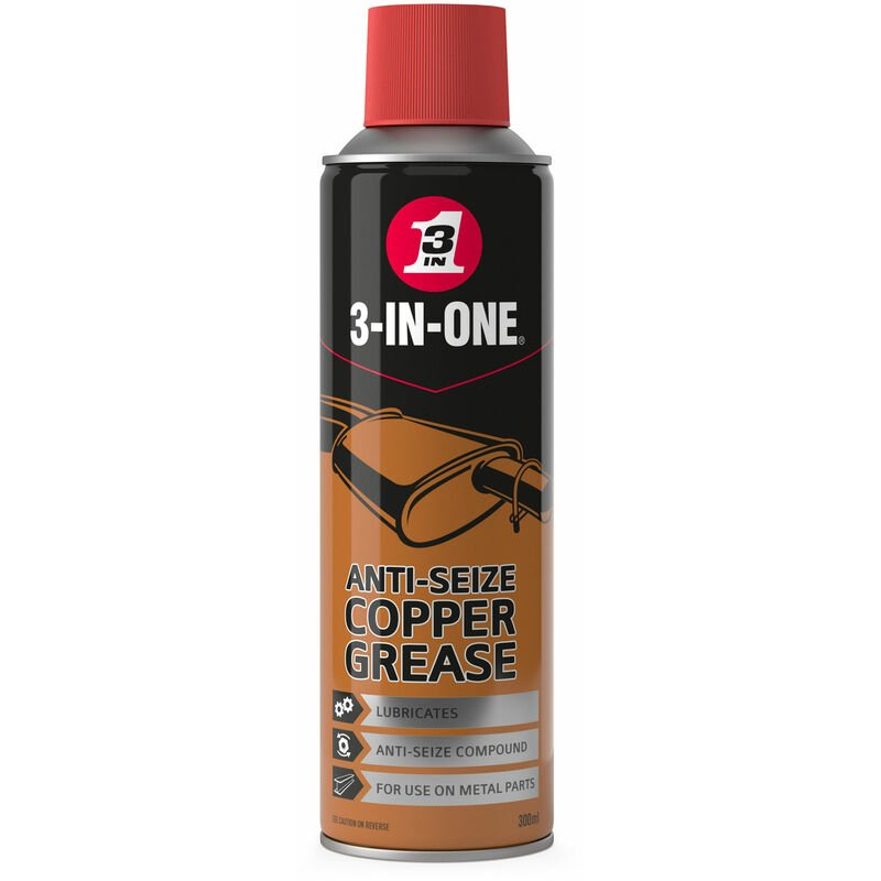 Image of 44607 Anti-Seize Copper Grease 300ml - 3-in-one