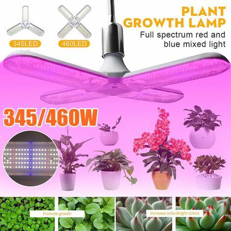 3 lames LED élèvent la lampe pour les plantes à spectre complet Led élèvent la lumière de haute qualité pour la végétation plantes fleurs éclairage intérieur (3 lames)