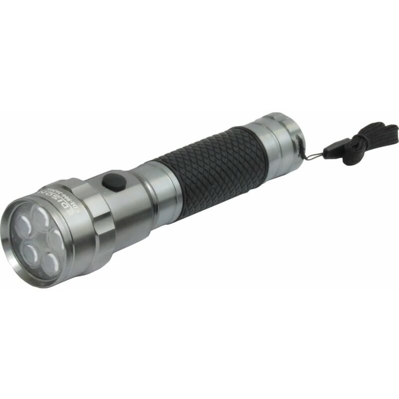 Image of 5 LED Alu Soft Grip Torch Requires (2XC) Batts - Edison