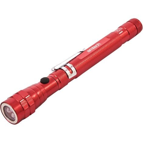 3 LED TELESCOPIC TORCH & MAGNETIC PICK UP TOOL