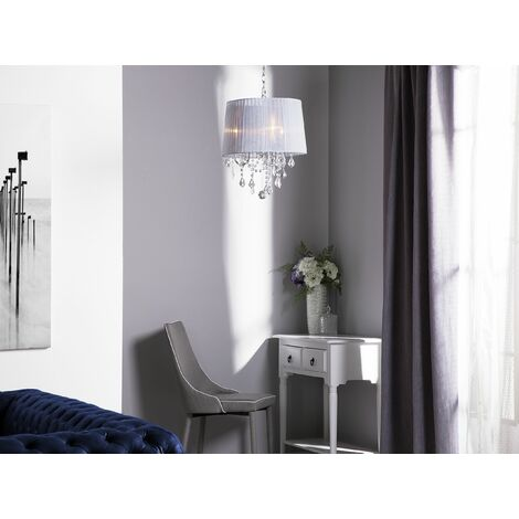Crystal Chandelier White EVANS