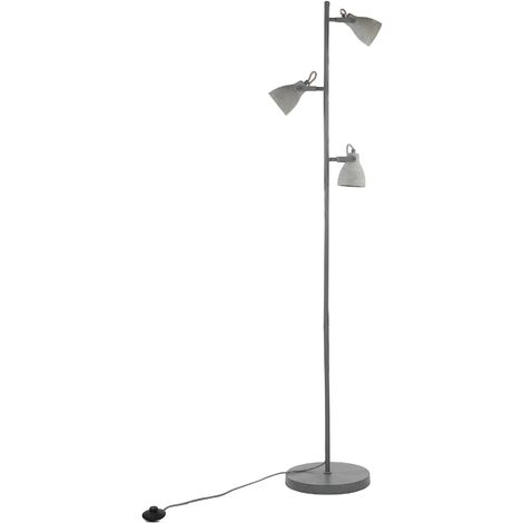 3 Light Concrete Floor Lamp MISTAGO