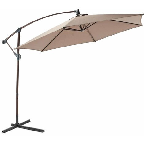 3 Meter Banana Parasol - Various colours available