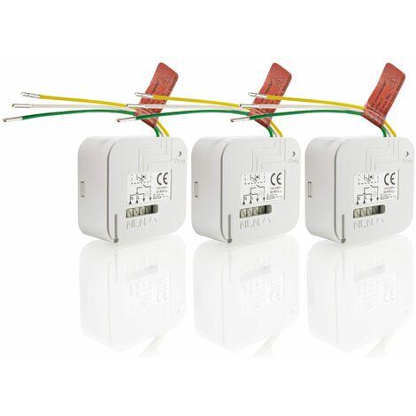 3 Micro-récepteurs pour éclairage RTS Somfy - 1870865