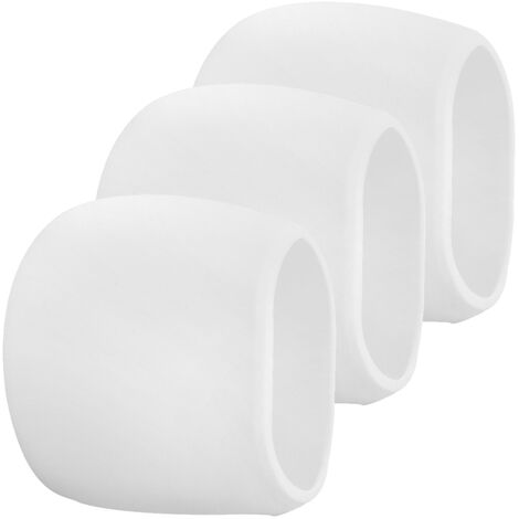 """main image of """"3 Packs Silicone Case for Arlo Cameras Security Weatherproof Protective Case,White,model:White 3"""""""
