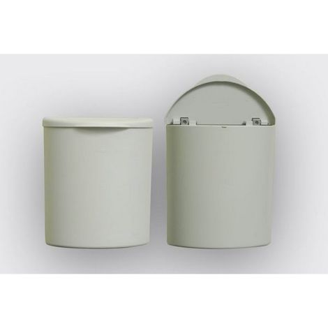 3 Part Bin Set (One Size) (White)