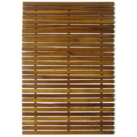 3 pcs Acacia Bath Mat 80 x 50 cm QAH15508