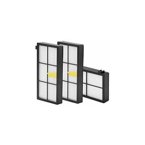 3 Pcs Filtre HEPA de rechange pour aspirateur iRobot Roomba 800 900 Series 860 870 880 980