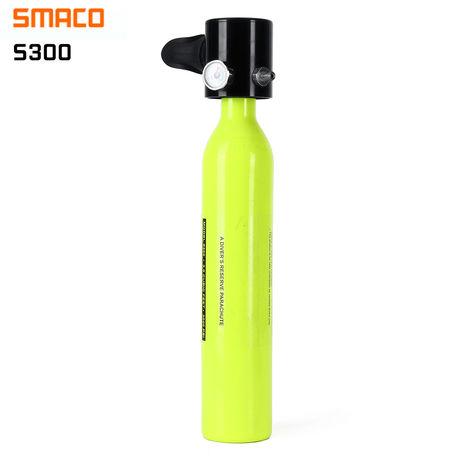 3 Pcs Smaco Diving Mini Diving Bottle Oxygen Bottle + Underwater Air Pump