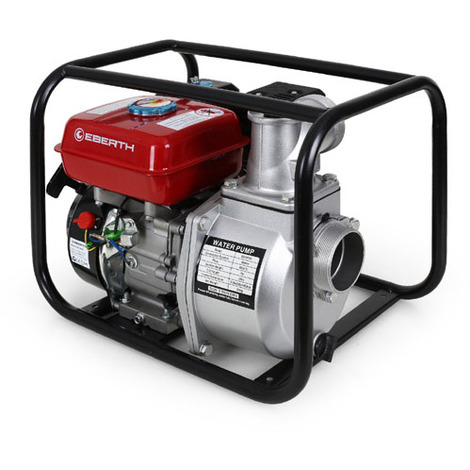 "3"" Petrol Water Pump (60,000 l/h, 6.5 HP Petrol Engine, 2 Inch Connection, 30 m Head, 7 m Lift, Recoil Starter)"