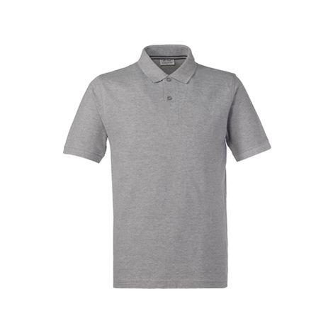 GRATUITA FRUIT OF THE LOOM uomo POLO manica corta 100/% COTONE maglietta SPEDIZ