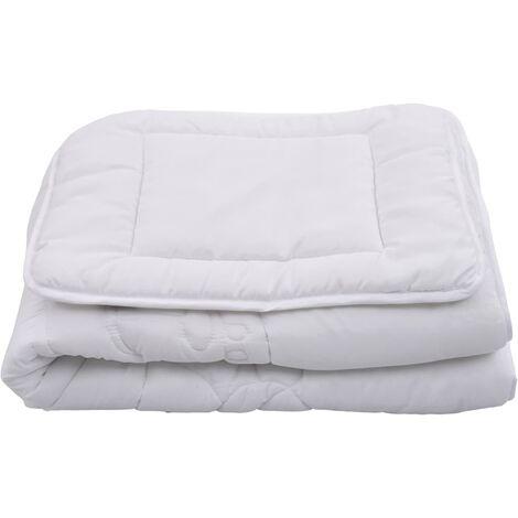 3 Piece Kids Duvets Set White 100x135 cm/40x60 cm