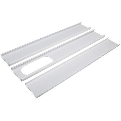 3 piezas de Ventana Ajustable 190cm Pr para Aire Acondicionado Portátil, Fácil de Mover