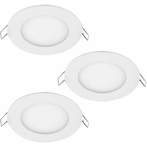 3 Set LED equipado radiadores de aluminio alrededor de habitaciones focos 1 hoja Paulmann 926,92